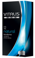 12 stk. VITALIS natural kondomer