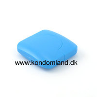 Kondom etui - Blå