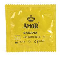 10 stk. AMOR - Banana kondomer