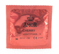 10 stk. AMOR - Cherry kondomer