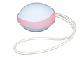 Amor Silicone Single Gym Ball - pink/blue