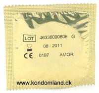 10 stk. AMOR - Natura/gleitsub. Kondomer