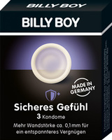Billy Boy Extra Sikker kondomer - 3 stk.