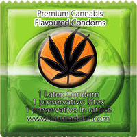 1 stk. Cannadom - kondom med cannabis aroma