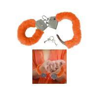 Håndjern Orange plys