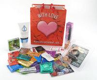 Den frække Pakke - med kondomer og lidt sjov :-)