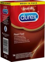 16 stk. DUREX Real Feel Kondomer (latexfri)