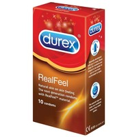 10 stk. DUREX Real Feel Kondomer (latexfri)
