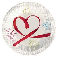 10 stk. EXS - Hjerte kondomer