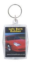 Kondom Nøglering - Lets burn Rubber