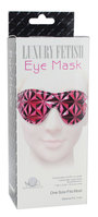 Luxury Fetish - Eye Mask pink/rød