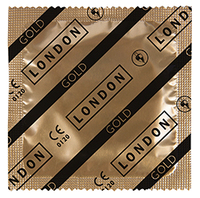 10 stk. LONDON Gold Kondomer