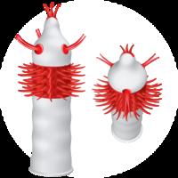 1 stk. French Tickler Apokalipsis kondom