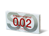 12 stk. SAGAMI Original 0.02 latexfri kondomer