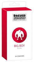 24 stk. Secura - Big Boy Kondomer