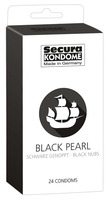 24 stk. Secura - Black Pearl Kondomer