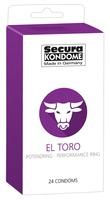 24 stk. Secura - El Toro Kondomer
