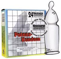 24 stk. Secura - Potenz Kondomer