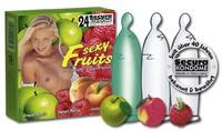 24 stk. Secura - Sexy Fruits Kondomer