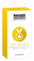 24 stk. Secura - Test The Best kondomer
