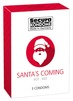 Secura Santa's Coming Kondomer 3 stk.